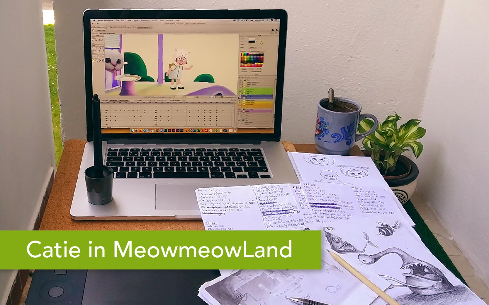 Catie in MeowmeowLand - Essential information about the point-and-click adventure indie game